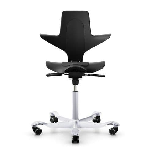 HAG Capisco Puls 8010 Black Office Chair - In Stock