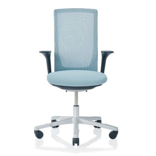 HAG Futu Mesh Office Chair - Frost