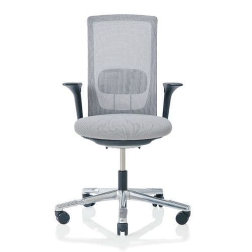 HAG Futu Mesh Office Chair - Stone