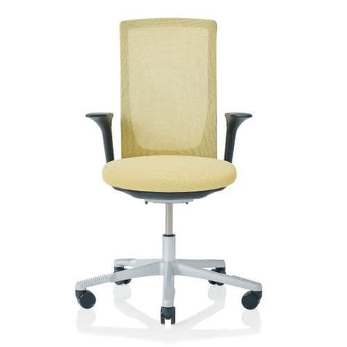 HAG Futu Mesh Office Chair - Straw