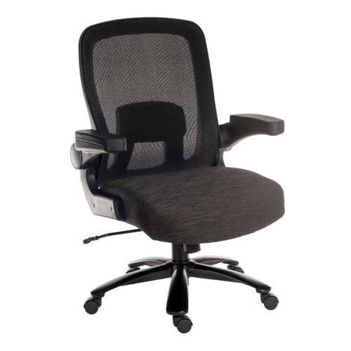 Hercules Heavy Duty 24 Hour Office Chair 35 Stone
