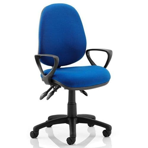 Holt 3 Task Operator Chair 23.5 Stone