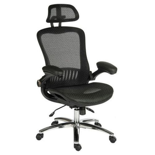 Jazz Mesh Office Chair 23.5 Stone