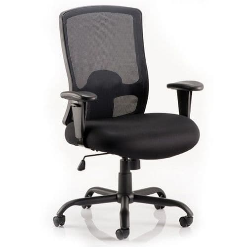 Keswick HD Mesh Heavy Duty Office Chair 32 Stone