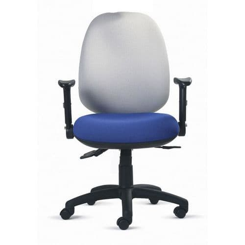 Status Core High Back Ergonomic Office Chair 23.5 Stone