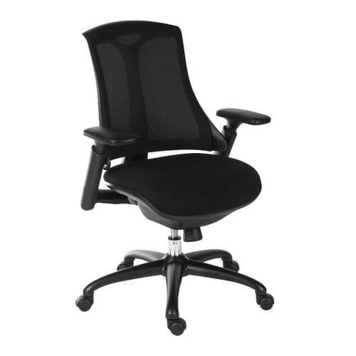 Teknik Rapport Mesh Back Office Chair - Black