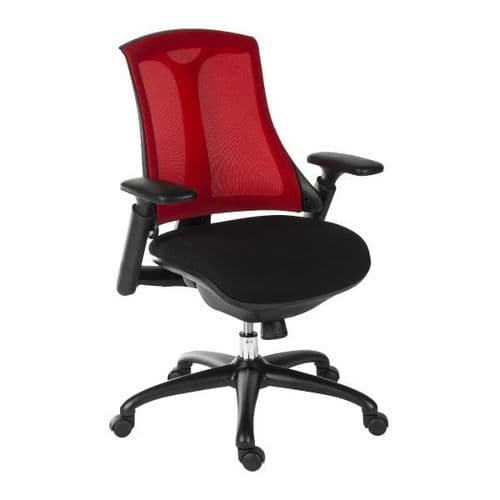 Teknik Rapport Mesh Back Office Chair - Red
