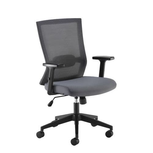 Travis grey mesh office chair