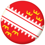 Alsace Province Flag 58mm Mirror