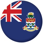 Cayman Islands Flag 58mm Fridge Magnet