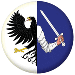 Connaught Province Flag 58mm Keyring