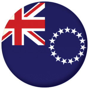 Cook Islands Flag 25mm Pin Button Badge
