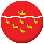 East Sussex County Flag 58mm Mirror