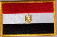 Egypt Embroidered Flag Patch, style 08.