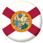 Florida State Flag 25mm Pin Button Badge
