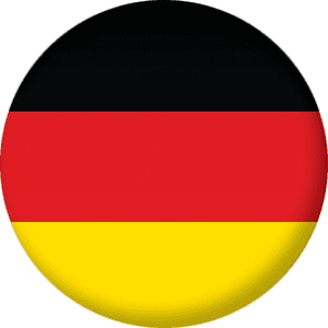 Germany Country Flag 25mm Pin Button Badge