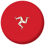 Isle of Man Flag 58mm Mirror