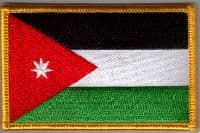 Jordan Embroidered Flag Patch, style 08.