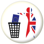 Keep Britain Tidy Brexit 58mm Fridge Magnet