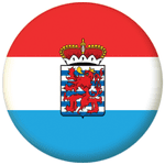 Luxembourg (Province of Belgium) Flag 58mm Mirror