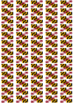 Maryland Flag Stickers - 65 per sheet