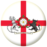 Northamptonshire Old Council Flag 58mm Button Badge
