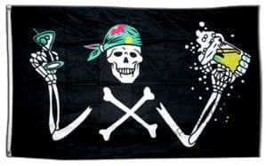 Pirate Beer Large Flag - 5' x 3'