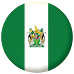 Rhodesia Country Flag 25mm Fridge Magnet