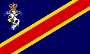 Royal Electrical and Mechanical Engineers Large Flag - 5' x 3'.