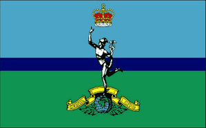 Royal Signals Corps Large Flag - 5' x 3'