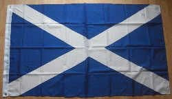 Scotland St Andrew Large Country Flag - 3' x 2'.