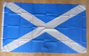 Scotland St Andrew Light Blue Large Country Flag - 3' x 2'.