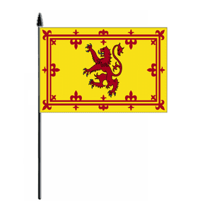 Scotland (Lion) Country Hand Flag, style 2.