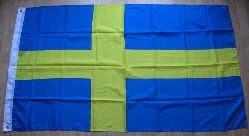 Sweden Large Country Flag - 3' x 2'.