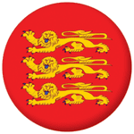Upper Normandy Province Flag 25mm Pin Button Badge