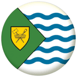 Vancouver Flag 25mm Button Badge