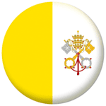 Vatican City Country Flag 58mm Mirror