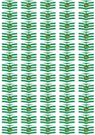 Wiltshire Flag Stickers - 65 per sheet
