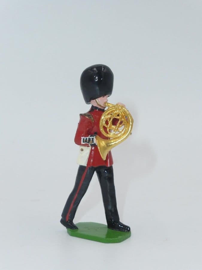 Ducal Soldiers Scots Guard Band Figure French Horn