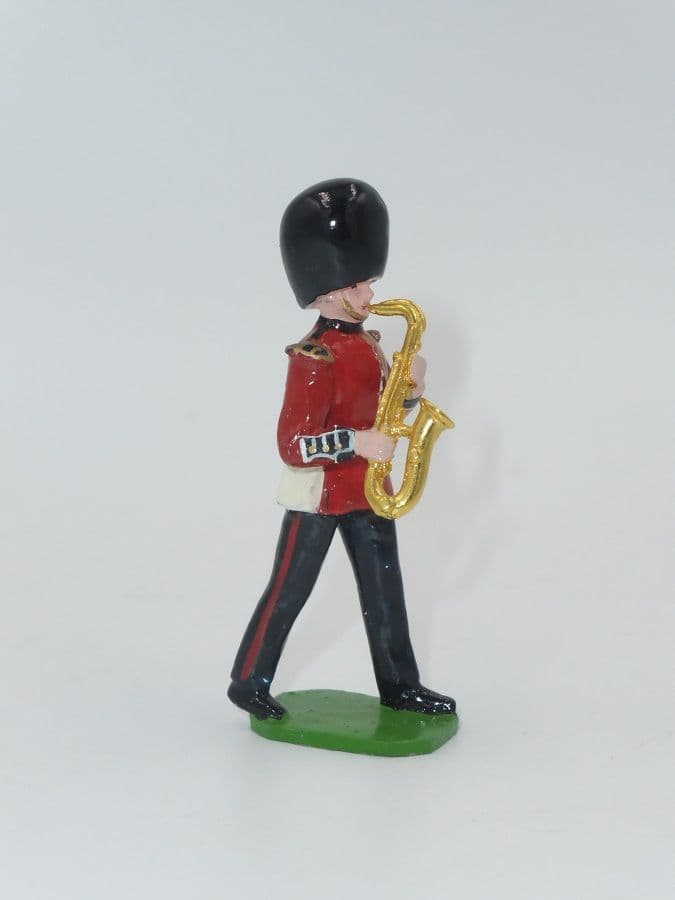 Ducal Soldiers Scots Guard Band Figure Saxophone