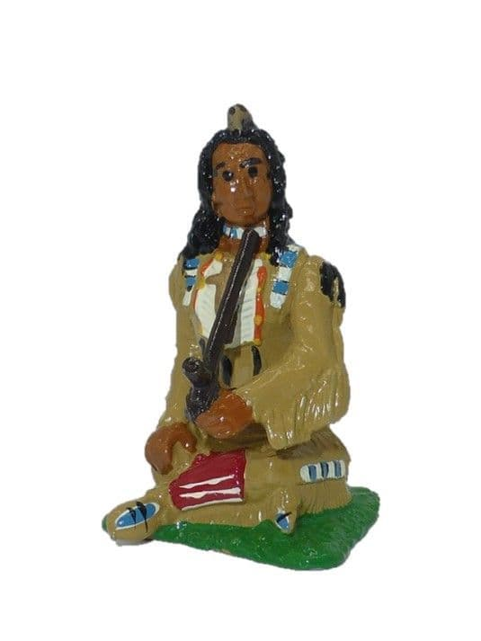 IND03 - Indian Chief with Pipe
