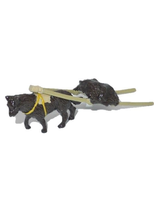IND19 - Dog with Sled