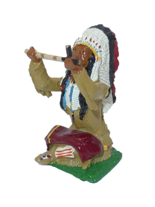 IND23 - Indian Chief with Pipe of Peace