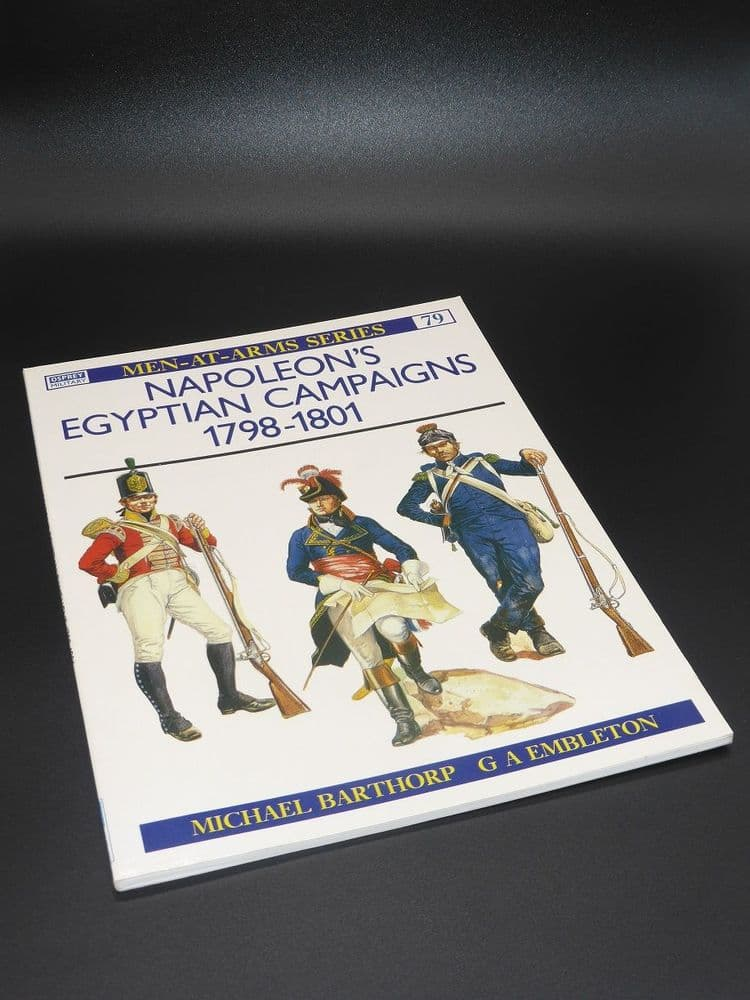 Men-At-Arms - Napoleon's Egyptian Campaigns 1798-1801