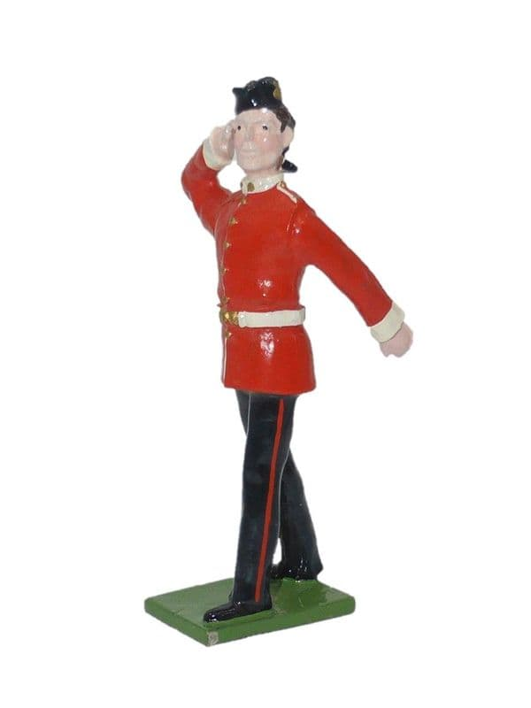 SS 58B - Line Infantry - Walking Out Saluting / Red
