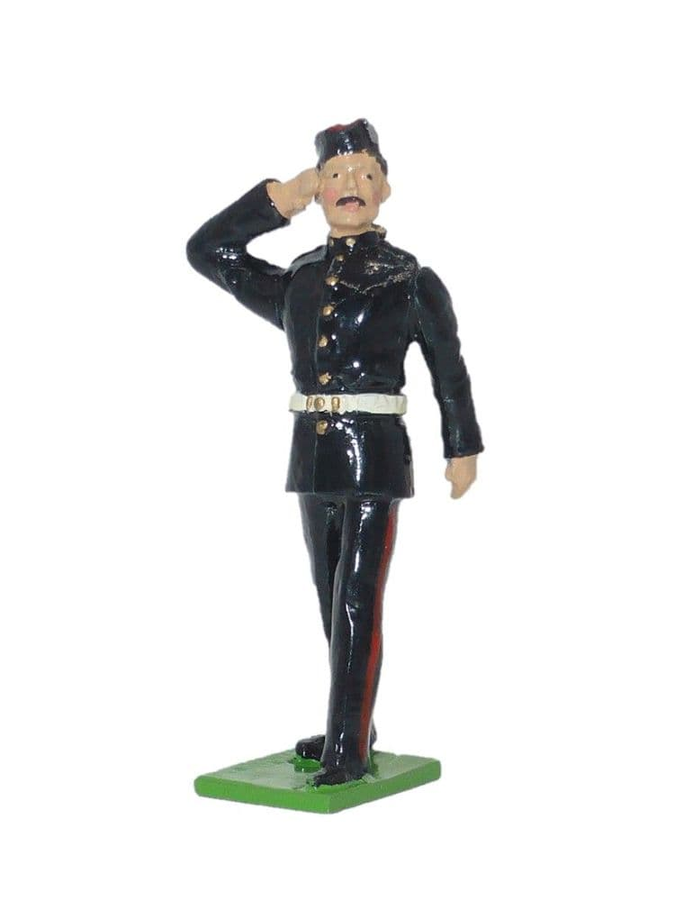 SS 58D - Light Infantry RSM at Salute - Walking Out Dress / Green