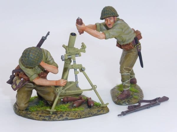 THOMAS GUNN RS059 - WWII  Japanese 80mm Mortar with Crew