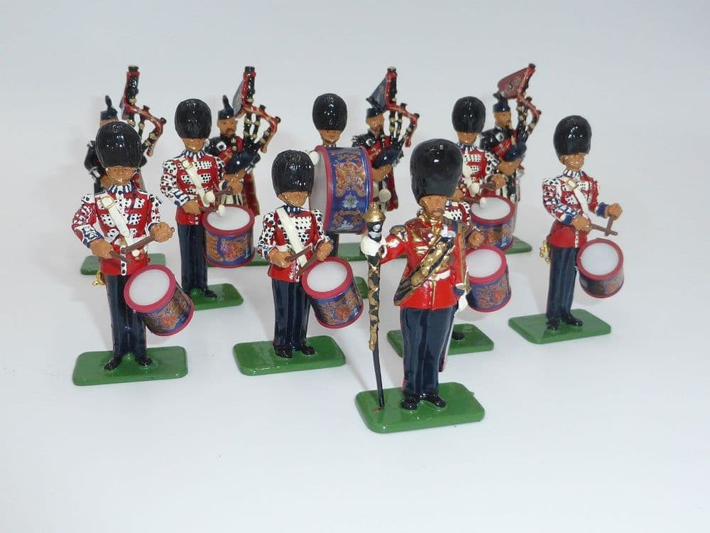 WB 00214 Pipes & Drums of the Scots Guards 1899