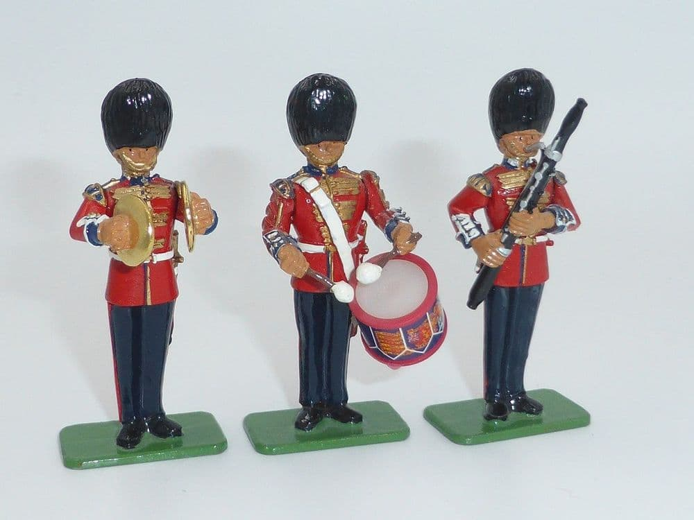 WB00291 Scots Guards Band Bassoon, Tenor Drum, Cymbals