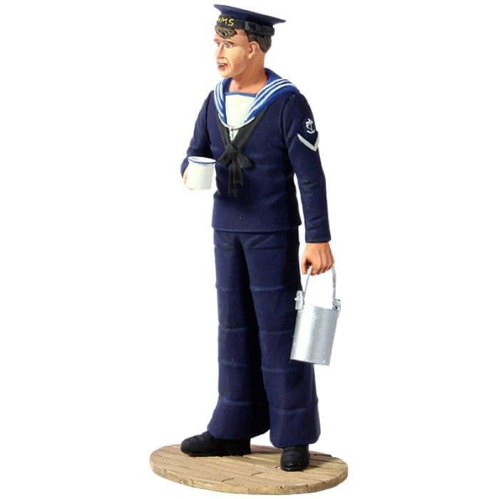 WB13005 British Royal Navy Sailor with Rum Rations, 1940's